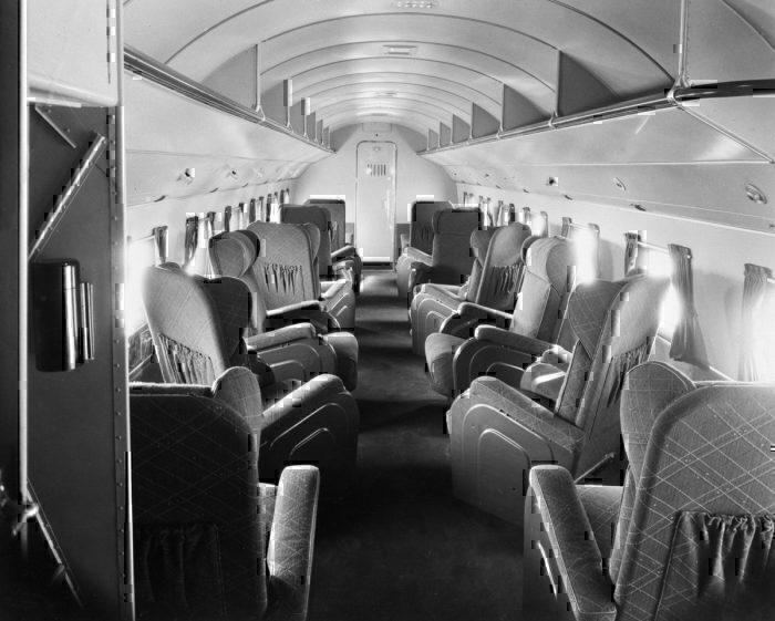 Getty Interior of DC3 1938