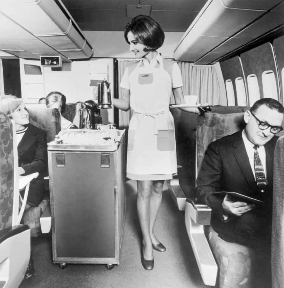 Getty Pan Am 747 economy