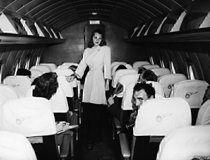 Getty Pan Am main cabin 1958