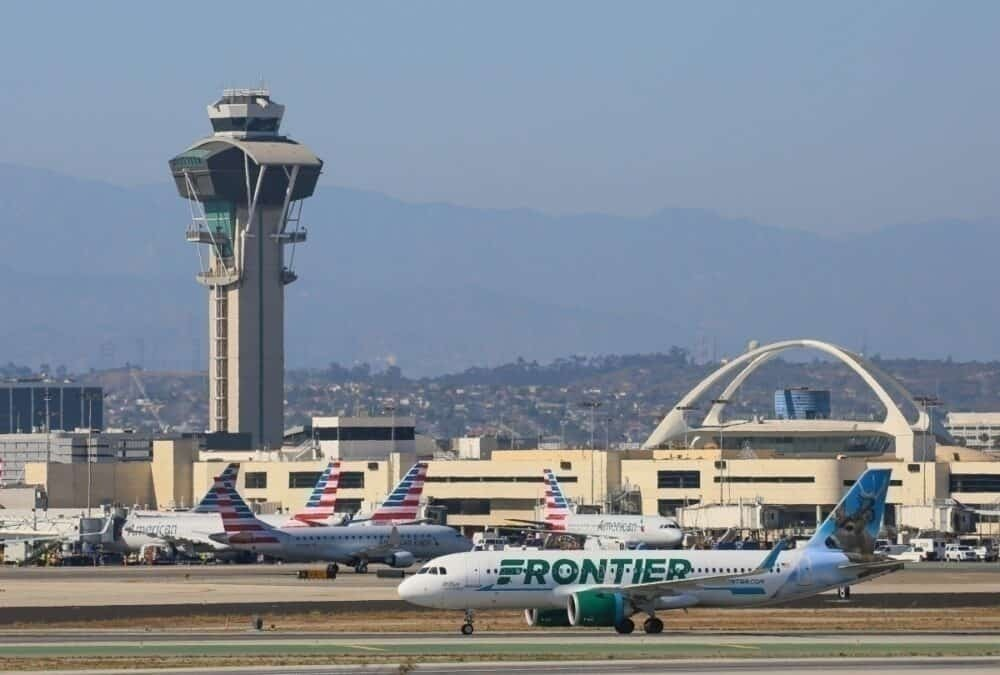 Frontier american airlines getty images