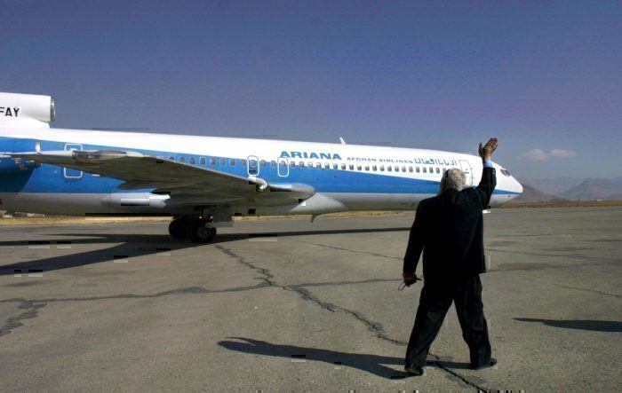 Ariana Afghan Airlines 727