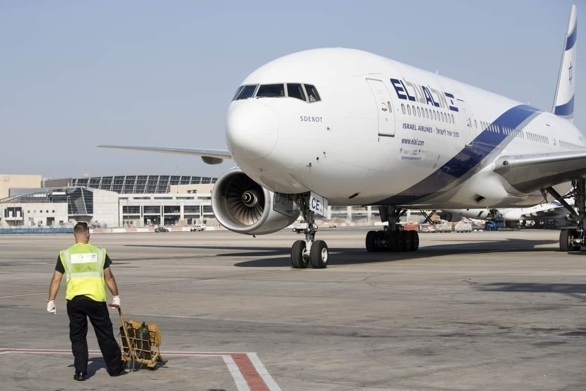 El Al at gate