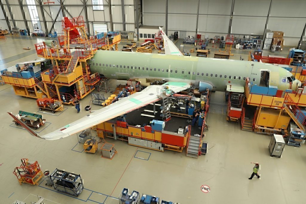 Airbus, A321 Manufacture, Toulouse