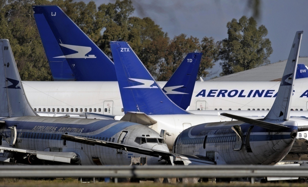 Aerolineas Argentinas fleet modernization getty images