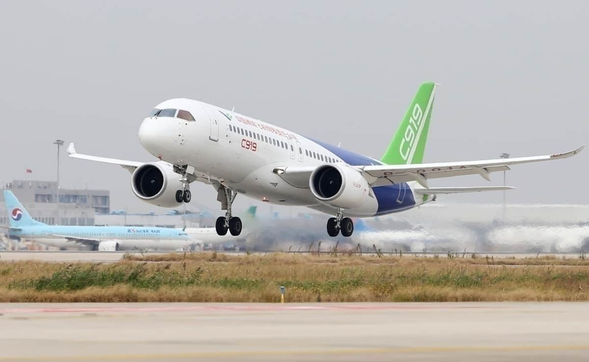 The Future Of Chinese Aviation: The Comac C919 - Simple Flying