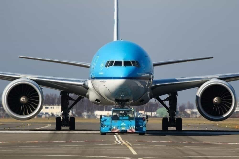 KLM premium economy getty images
