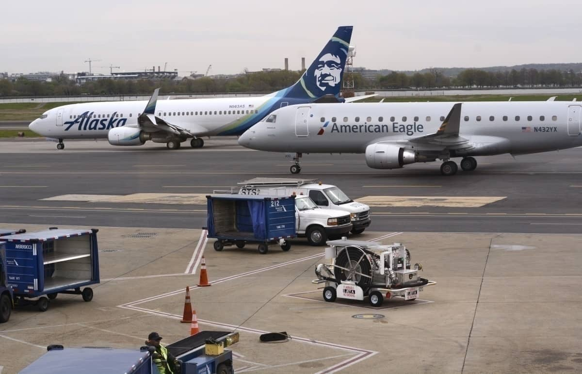 Alaska Airlines Getty