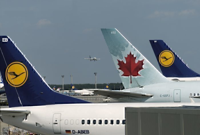 Lufthansa, Eurowings, Calgary, Frankfurt