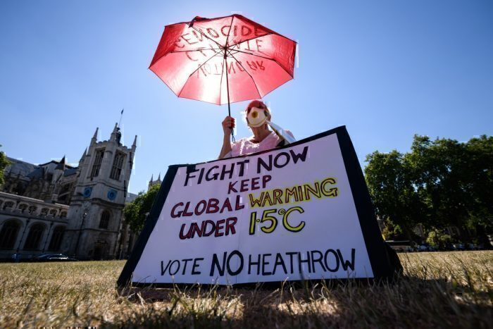 Climate campaigners win Heathrow expansion case