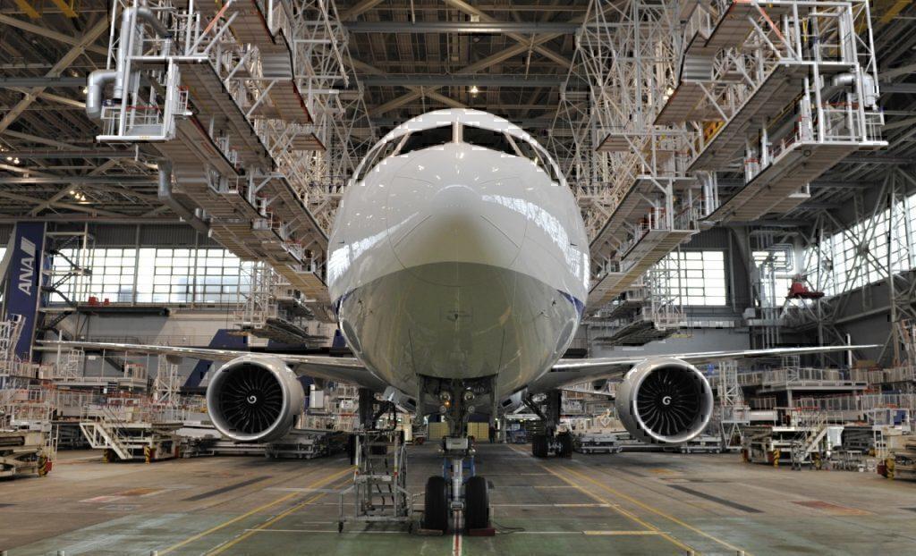 Boeing 777-300ER factory ANA
