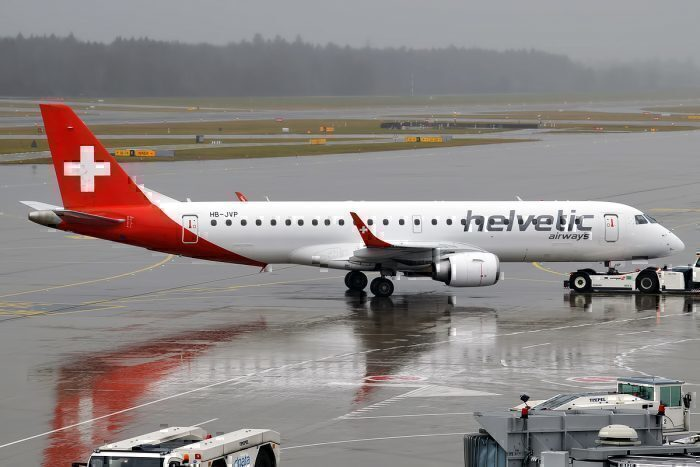 Helvetic Airways Embraer E190
