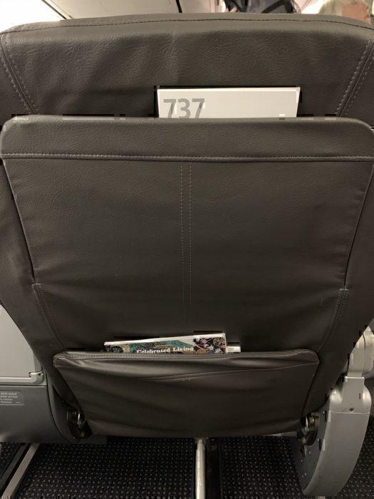 Seatback First Class