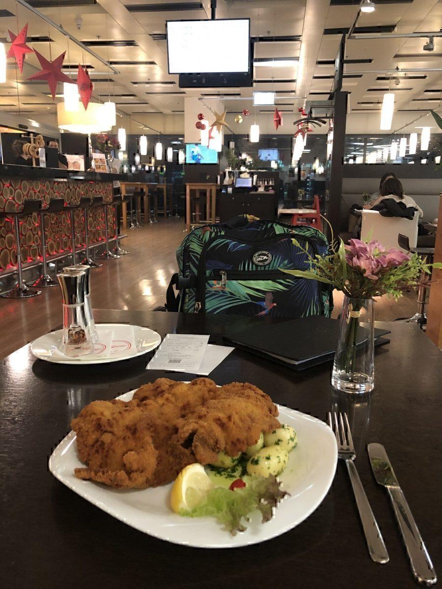 Vienna airport restaurant