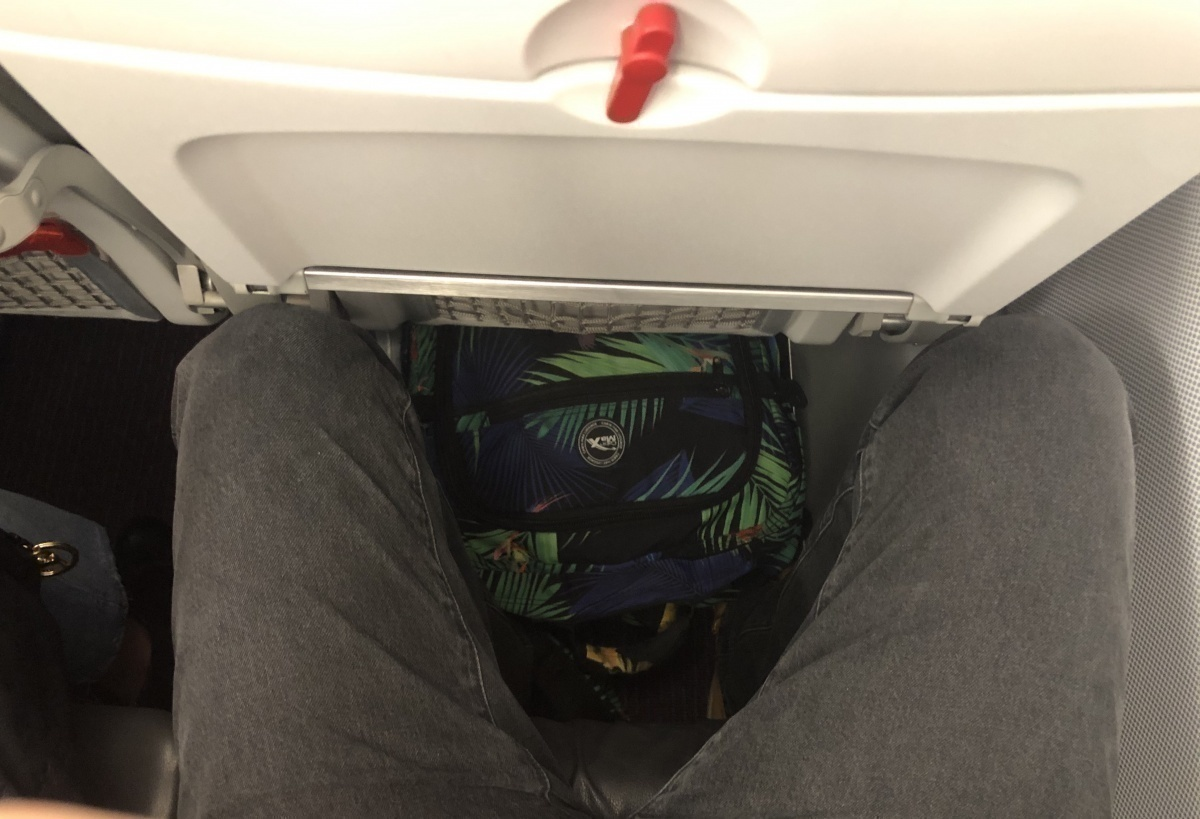 Austrian Airlines legroom