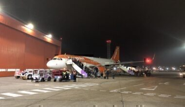 easyJet A320 cancelled London Luton