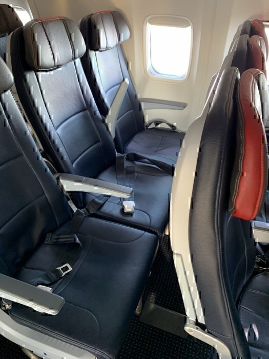 American Airlines Oasis economy