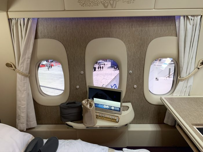 Emirates, Boeing 777, Virtual Windows