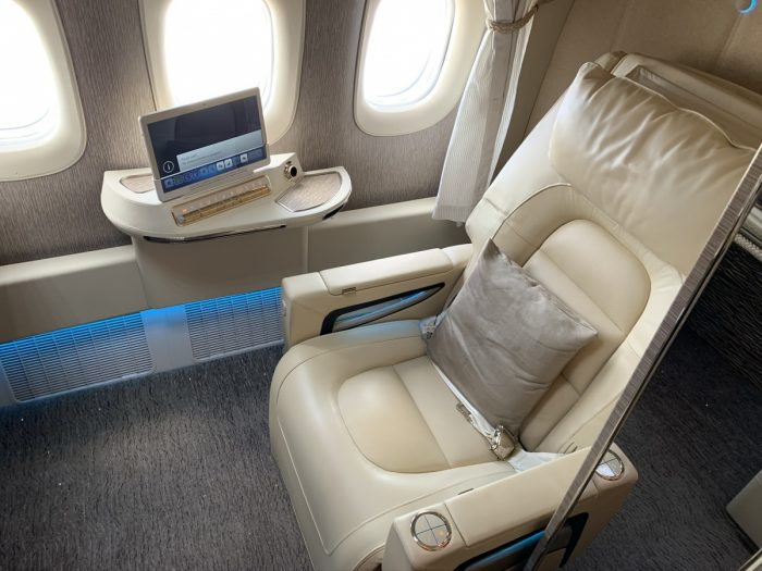 Emirates, Boeing 777, Cabin