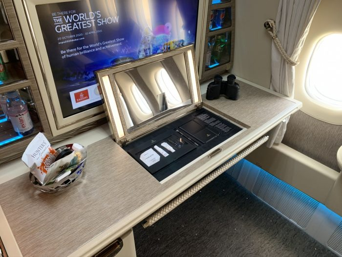 Emirates, Boeing 777, First Class