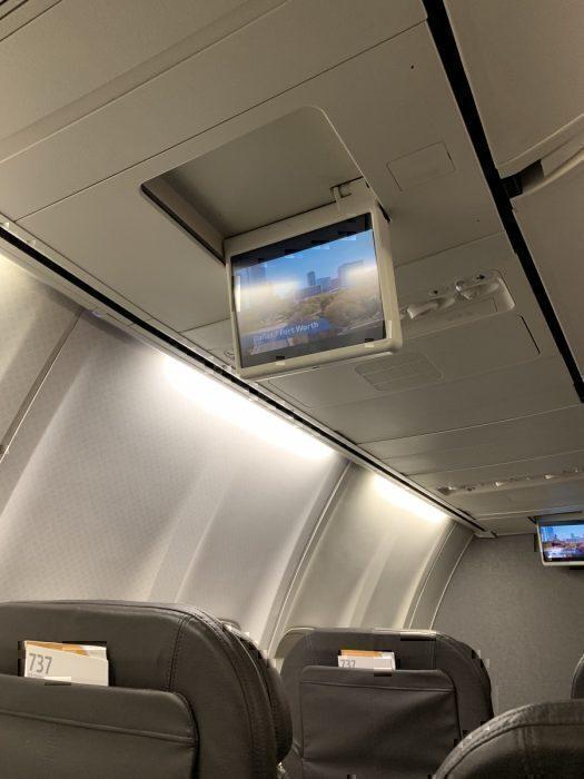 Overhead screen