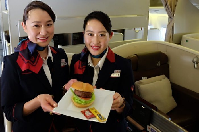 Japan Airlines Beyond Meat
