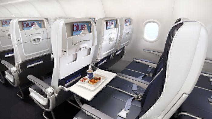 Aegean A320neo economy class
