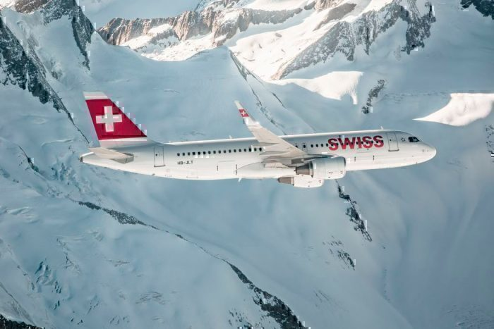 Swiss Airlines Airbus A320 aircraft