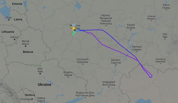 Cracked Windshield Forces Bangkok-Bound Rossiya 777 Diversion