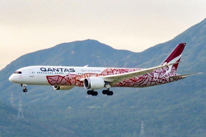 Qantas 787-9 VH-ZND