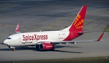 SpiceJet 737 Freighter
