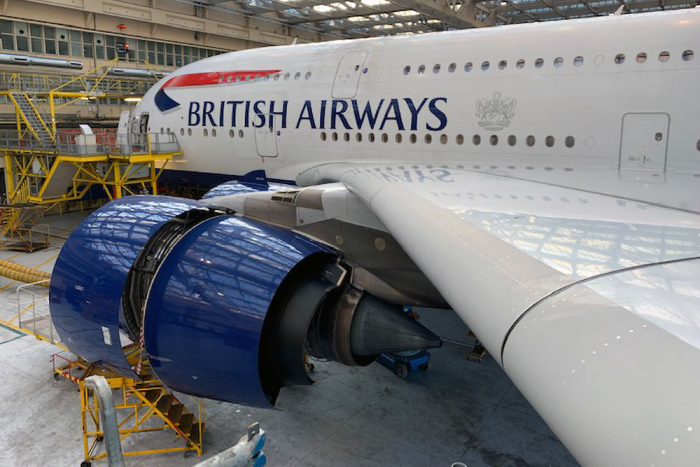 British Airways, Airbus A380, Maintenance