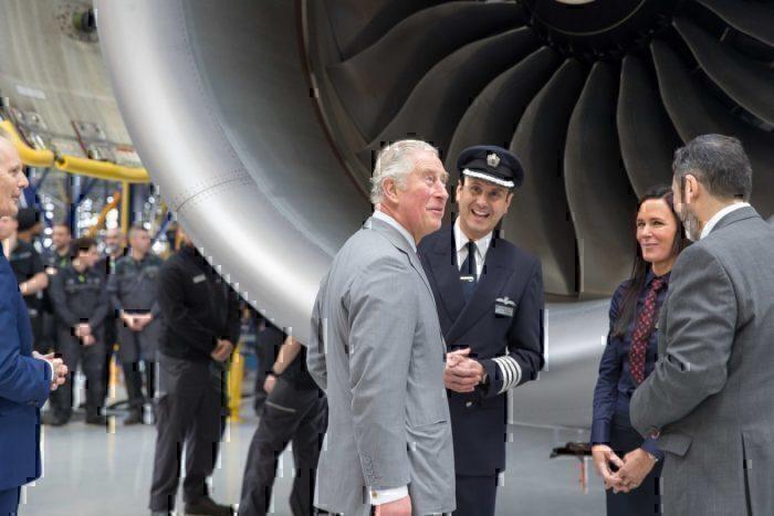 British Airways, Sustainability, Prince Charles