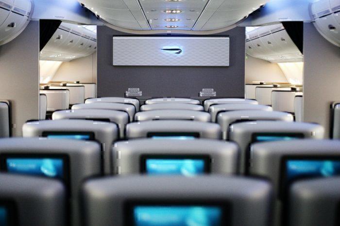 British Airways, Airbus A380, Interior