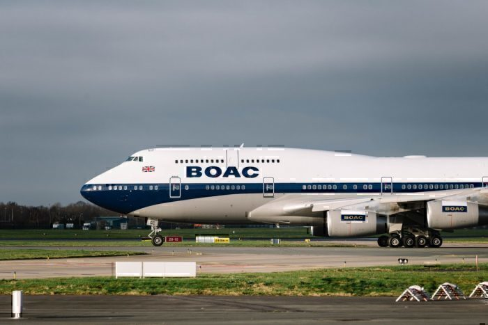 British Airways, China, Flight Suspension