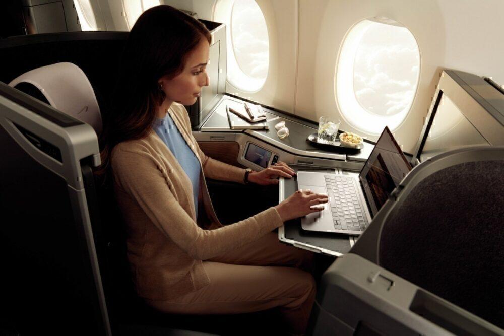 British Airways, Boeing 787-10, Cabin