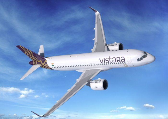 Vistara Airbus