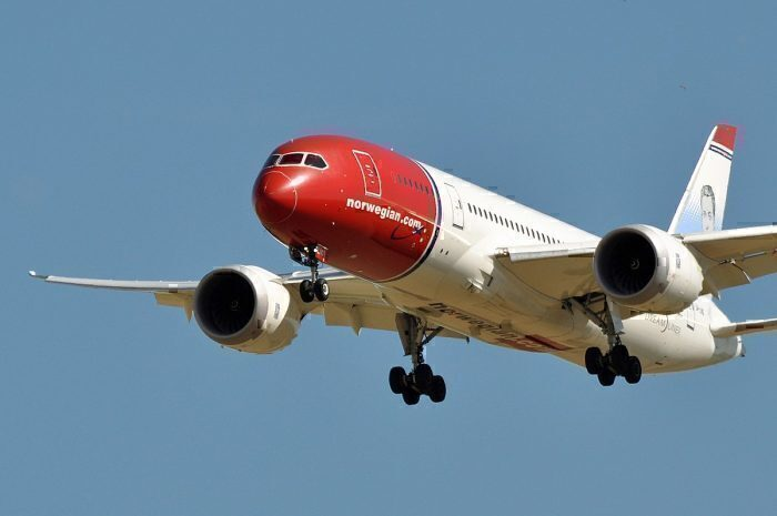 Norwegian Air Shuttle 787 Dreamliner