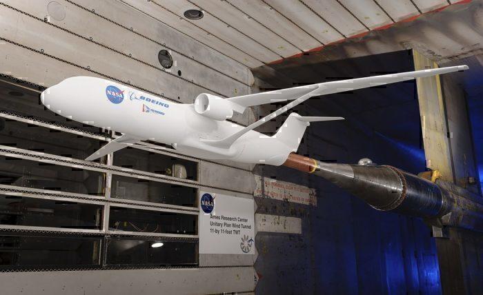 TTBW in NASA wind tunnel