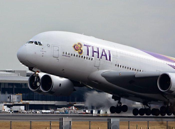 Thai Airways Airbus A380-800 HS-TUA NRT