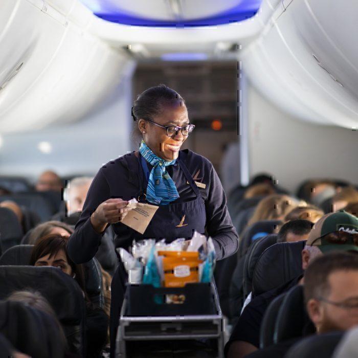 Flight attendant service