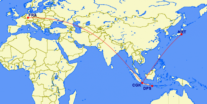 route map citilink