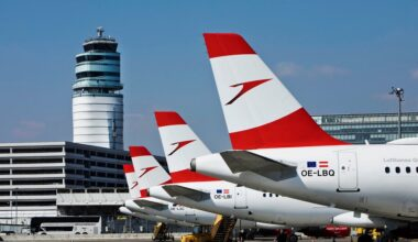 Austrian Airlines Tails