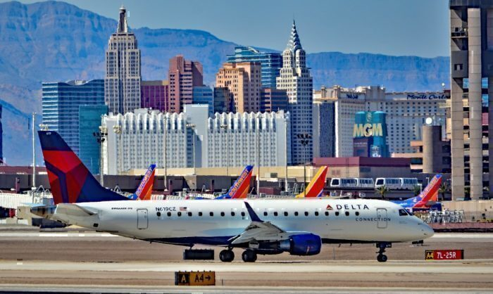 Delta Connection operated by Compass Airlines