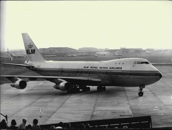 KLM 747 1973