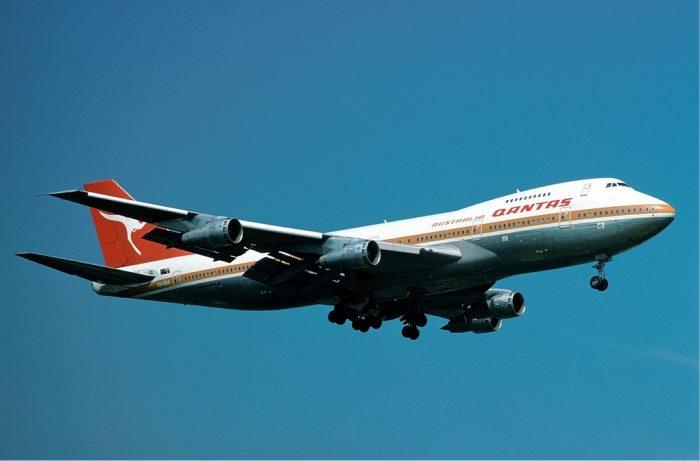 Qantas 747 1977