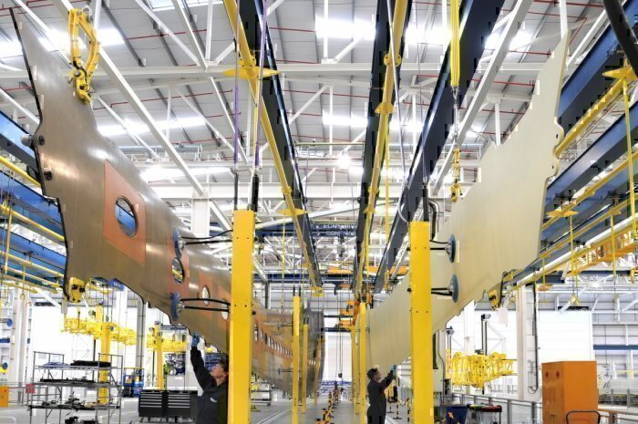 Airbus Manufacturing facility
