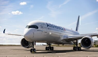 Air France, Airbus A350, Center Of Gravity