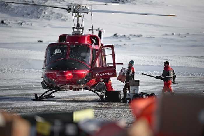 Air Greenland helicopter