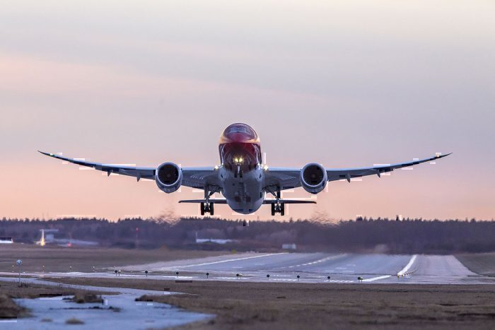 Norwegian Air to temporarily lay off half of employees