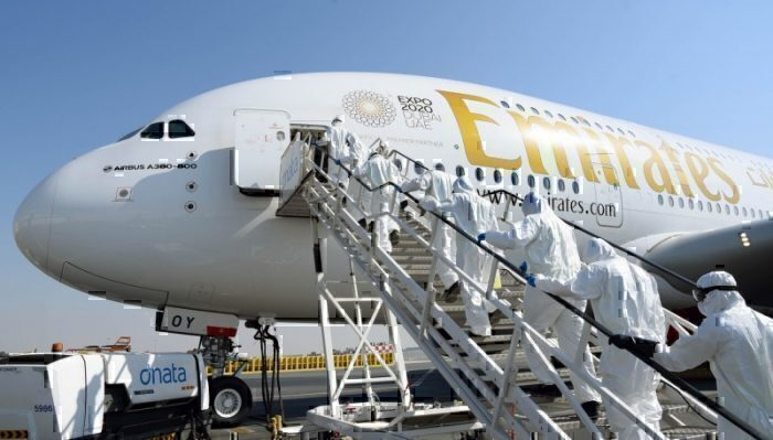Coronavirus: Emirates to ground entire passenger fleet and cut wages